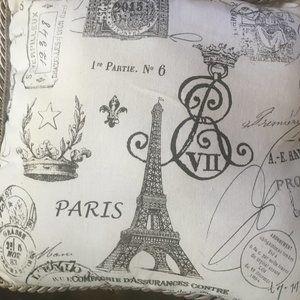 Paris Handmade Decorative Pillow